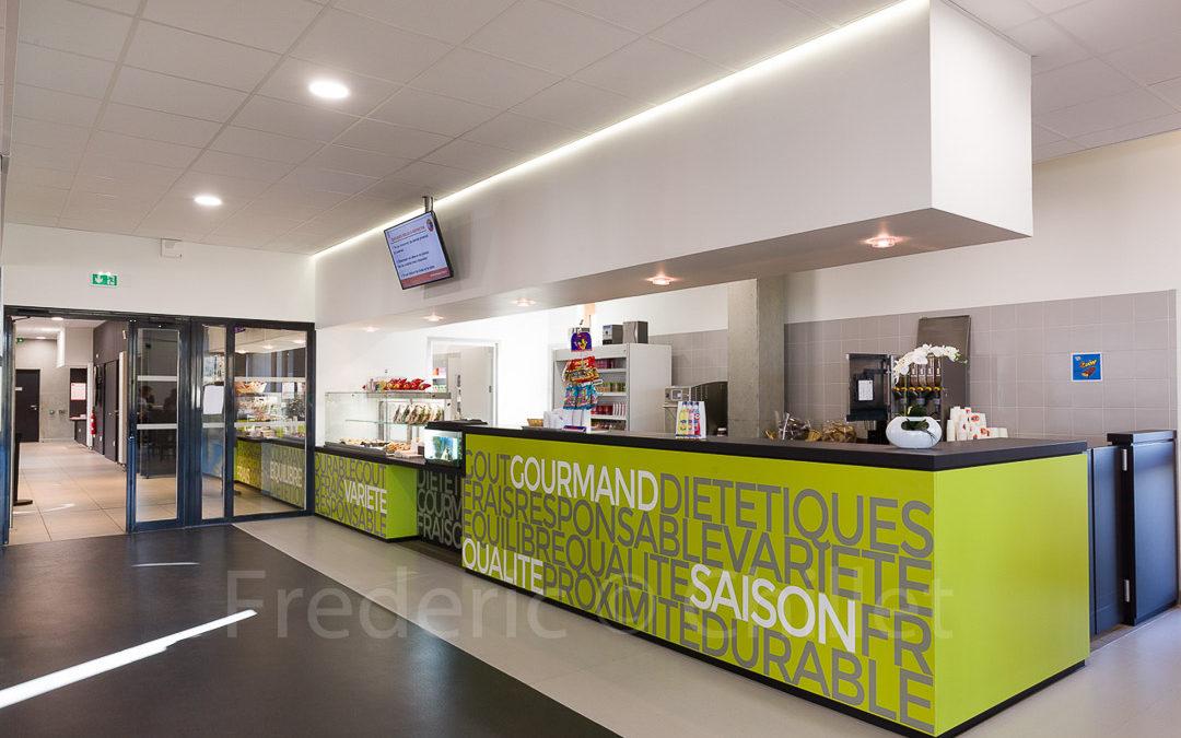 Photographies des restaurants et cafétérias du Crous de Lyon