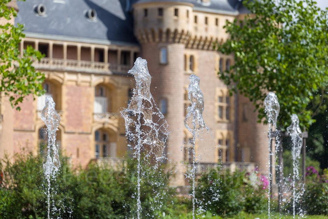 Fontaine seche dynamique la clayette