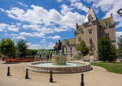 Fontaines-place-de-la-mairie-meursault-Frederic-Chillet-1