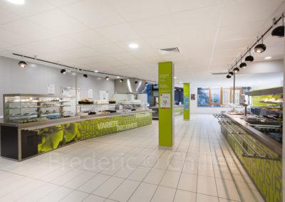 Restaurant universitaire du Crous, de Lyon Sud