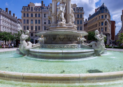 fontaine place des Jacobins Lyon